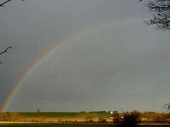 Solstice Rainbow (Dr Nigel) Tags: light england sky lumix rainbow panasonic refraction northeast dmcfz8