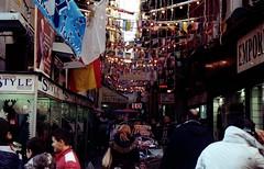 Spanish quarters (nuamba) Tags: street people color film kodak napoli ricoh kr10x spanishquarters nuamba