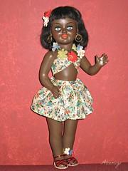 Chelito (Tartadefresa) Tags: black hawaii doll negra 1950 muñeca berenguer chelito hawayana