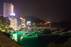 [landscape] night lake (jiroehwa) Tags: light lake night boat ship sunmoon  candidus