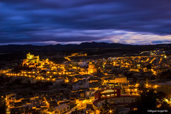 Sunset in Caravaca (Miguel ngel Navarro Sanchez) Tags: espaa color canon atardecer eos luces noche europa exposure cloudy cielo stunning angular calles fotografa colorido caravaca 18135mm canonistas blinkagain