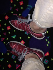 IMG_4510 (sockless_ca) Tags: shoes rental sweaty bowling barefoot barefeet smelly stinky nosocks sockless withoutsocks