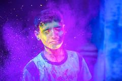 Holi - Colour of All hues (Karthi KN Raveendiran) Tags: colors festival riot colours celebrations colourful splash holi colorsplash incredibleindia indiankid