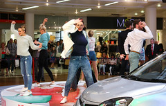We Are Fashion (Maynineteen) Tags: summer fashion retail shopping spring dancers models style shoppingcentre event shoppingmall westfield merryhill 2014 brierleyhill movingcatwalk revolvingstage