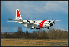 1709 HC-130H United States Coast Guard Kodiak (Bob Garrard) Tags: coast united guard states lockheed anc kodiak c130 panc 1709 hc130h l382 usscg