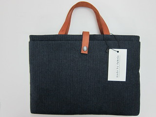 Fabrix Laptop Carrier Bag (Midnight Herringbone)