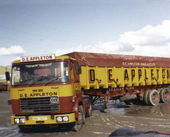 Appletons Seddon Atkinson Tipper 1978 (Betapix) Tags: formby liverpool appletons seddon atkinson tippers tipper haulage hgv lorry truck 1980 1970 trucks lorries lgv 1 2 3 artic trailer