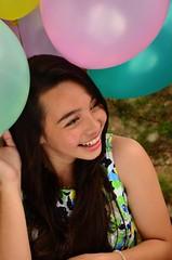 Estelle (LeonKarlos) Tags: balloons happy outdoor