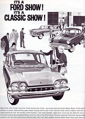 Ford Consul Classic 315, Anglia 105E & Zephyr 6 (1961) (andreboeni) Tags: classic car automobile cars automobiles voitures autos automobili classique voiture retro auto oldtimer klassik classica publicity advert advertising advertisement illustration ford consul 315 anglia 105e zephyr zephyr6