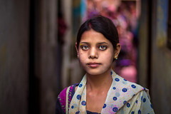 Beauty (Harshal Orawala) Tags: barsana india 121clicks eyes portrait holi holi2017 holi2k17 girl beautiful lights natgeo preety
