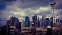 Manhattan view from Brooklyn Bridge (ajit_sagar) Tags: streetphotography fujifilmx100t newyorkbridges nyc manhattanskyline newyork brooklynbridge