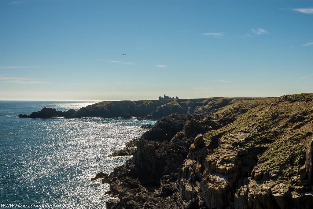 Went for a Walk along the Cliffs @ Cruden Bay and visited Slains Castle ,