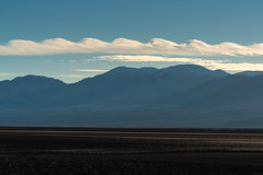 Kelvin–Helmholtz Clouds Over Death Valley (Kurt Lawson) Tags: alluvialfan alluvium badwater blue california clouds copyrighted death desert helmholtz kelvin mojave mountains national panamint park range sky special valley