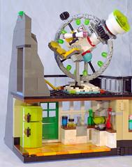 Magic Mountain Time Lab remake (lingonkart) Tags: lego moc timecruisers magicmountaintimelab timetravel laboratory base volcano remake