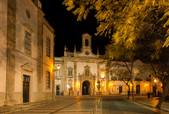 Golden Night (pietkagab) Tags: arcodavila faro city town oldtown architecture arch night longexposure buildings old historic historical dark black sky trees tree leaves gateway portugal portuguese europe pietkagab photography pentax piotrgaborek pentaxk5ii travel trip tourism tourist destination algarve sightseeing