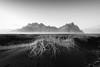 Vestrahorn (vulture labs) Tags: vestrahorn iceland bw fine art landscape vulturelabs workshop mist fog