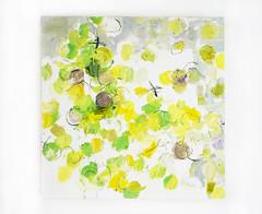 Seikurabe wo mohichido (Migi) (2017) oil on canvas, charcoal, pencil 450x450x45mm (mayakonakamura) Tags: mayako nakamura commissionedwork watermarkartscrafts watermark tokyo abstract painting oil canvas contemporaryart