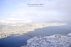 Tromsø_February_2017_I (LyonelPerabo) Tags: norge north norway northern northnorway nordic nord troms tromsø tromso snow snowy ice icy cold winter 2017 landscape outdoor outside sky skies blue white arctic polar sea ocean city mountain mountains urban island
