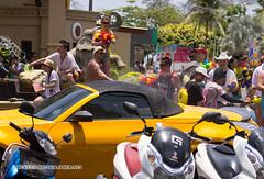 Songkran (Thai New Year) at Phuket island (forum.linvoyage.com) Tags: crazy water festival extreme экстрим фестиваль водный bike group people outdoor phuketian пхукетиан таиланд пхукет краби паттайя карон ката равай патонг тайланд songkran new year thailand phuket holiday fun funny wet splash smile girl woman women motorcycle сонгкран вода остров люди счастье красивый мото мотоцикл кабриолет машина car cabrio convertible