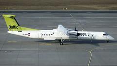 YL-BAJ Air Baltic Dash 8-400 at Warsaw Chopin on 17 March 2017 (Zone 49 Photography) Tags: warsaw warszawie chopin chopina airport waw epwa de havilland cawarsaw canada dhc dash 8 dash8 400 q400 air baltic bt bti ylbaj viewing gallery