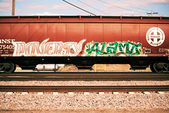 Poverty Alamo (This Car Excess Height) Tags: imp impeach poverty alamo alb amfm graffiti train railroad railcar art benching vandalism bnsf hopper