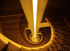 ∑ Just Stairs ∑ (melis#22) Tags: stairs praga prague czech republican czk palace circle spiral repubblica ceca scale light spirale cerchio yellow eos canon canon600d youngphotographers europe architecture homesweethome house condominio