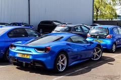 Blue Crew.. (Reece Garside | Photography) Tags: ferrari ferrari488 488 488gtb italian supercar summer spotter sun street silverstone car canon canon6d 6d hypercar history rare blue wec