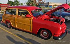 Custom 1951 Ford Station Wagon (l.e.violett) Tags: automobile custom 1951 ford stationwagon california carshow