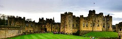 Alnwick Castle - Some scenes for Harry Potter where filmed here (gary.t.17) Tags: 100faves 75faves 50faves panorama panoramic d3300 nikon harrypotter castle