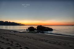 atardecer na praia de Tuia II (Pat Celta) Tags: nikon nikkor18140mm nature naturaleza landscape primavera paisaje galicia galiza bueu sea seascape