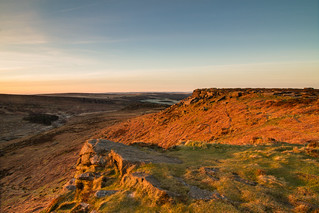First Light on Higger Tor (Explored)
