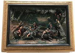 A Race of Chimney Sweeps on Donkeys (Drowsy Mary) Tags: was sculture percy samuelpercy sweeps chimneysweeps race newhaven connecticut 033117 yale yalecenterforbritishart