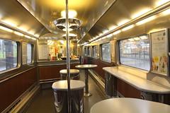 Buffet car of unrefurbished Eurostar 3231 (matty10120) Tags: railway rail train class eurostar old withdrawal brussels midi ziri zuri 1994 meto camell belgium france england e300