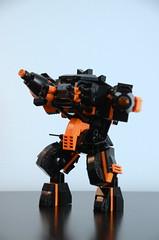 Assault Mech - Beast Mk. I action (Wafna-204) Tags: afol moc wafna mech mecha hardsuit robot lego legophotography