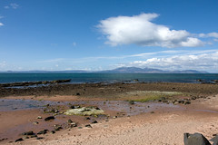 Seamill beach towards Arran #1 (Don McDougall) Tags: donmcdougall don scotland coast coastal ayrshire landscape westkilbride seamill shore arran isleofarran beach