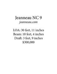 jeanneau card (Soundings Magazine) Tags: boats pocketcruisers cruisers yachts