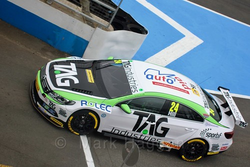 Jake Hill during the BTCC Media Day 2017