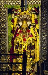 Annapurneshwari (Prabhu B Doss) Tags: prabhubdoss temple annapurneshwari annapoorni horanadu sringeri karnataka india goddess adisankaracharya statue sanctum bhadra western ghats hindu hinduism