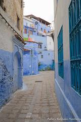 A street in Chefchaouen's Medina (adventurousness) Tags: bluecity chefchaouenthebluepearl thebluecity blue chaouen chefchaouen morocco street travel medina