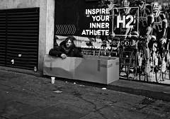 Hard Times VIII (bensonfive) Tags: roughsleeper hardtimes streetphotography blackwhitephotography monochrome soho london canon 5d 35mm