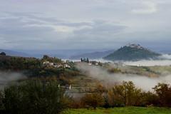 beauties of Istria (sandirusijan) Tags: croatia istra nikon morning nature beauties green sky oldtown oldhouse