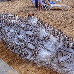 Sand sculpture, Puerto de Mogán, Gran Canaria, Canary Islands, Spain - 4844 thumbnail
