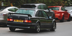Mercedes-Benz, 190E 2.3-16 Cosworth, Big Wave Bay, Hong Kong (Daryl Chapman Photography) Tags: bz2316 mercedes benz german pan panning bwb bigwavebay classic car cars auto autos automobile canon eos 1d mkiv is ii 70200l f28 road engine power nice wheels rims hongkong china sar drive drivers driving fast grip photoshop cs6 windows darylchapman automotive photography hk hkg bhp horsepower brakes gas fuel petrol topgear headlights worldcars daryl chapman darylchapmanphotography 2316 cosworth