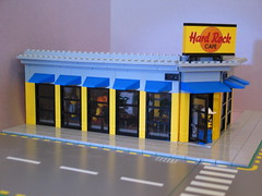 2Sidewalk (wardlws) Tags: lego hard rock cafe