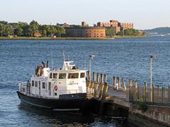 New York Harbor (Multielvi) Tags: new york city ny nyc harbor governors island staten ferry terminal manhattan pier boat