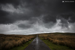 There's a storm coming (M:J:H:Photography) Tags: clouds cloudscape brecon breconbeacons road storm rain rainstorm dark skies brooding desolate wales southwales dramatic