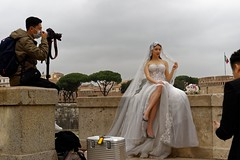 The bride (and a little bit of the groom) (Edwin Verhulst) Tags: bride groom photoshoot photographer pontesantangelo rome roma italy italia