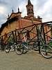 Brompton a San Cristoforo  #weekend #weekendmood #foldingbike (gianlucaazzolini) Tags: weekend weekendmood foldingbike