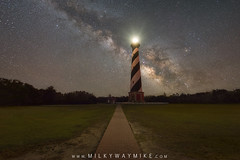 Path To The Light (Mike Ver Sprill - Milky Way Mike) Tags: path light cape hatteras lighthouse house north carolina obx outer banks milky way galaxy mike versprill ver sprill landscape nightscape night sky nightscaper astrophotography astronomy brick walk long exposure royce bair fusco