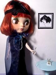 Blythe-a-Day#7. Telephones&#19. Mad: Clara Bow
